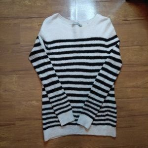 VINCE Wool Blend Striped Sweater Size Large